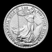 1 oz 2016 Britannia Silver Coin