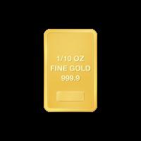 1/10 oz ausgewähltes Gold