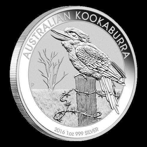 1 oz 2016 Australian Kookaburra Silver Coin