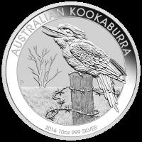 10 oz 2016 Australian Kookaburra Silver Coin
