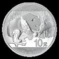 Moneda de plata Panda Chino 2016 de 30 gramos