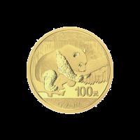 8 g 2016 Chinese Panda Gold Coin