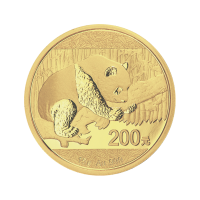 15 g 2016 Chinese Panda Gold Coin