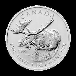 1 oz 2012 Canadian Moose Silver Coin