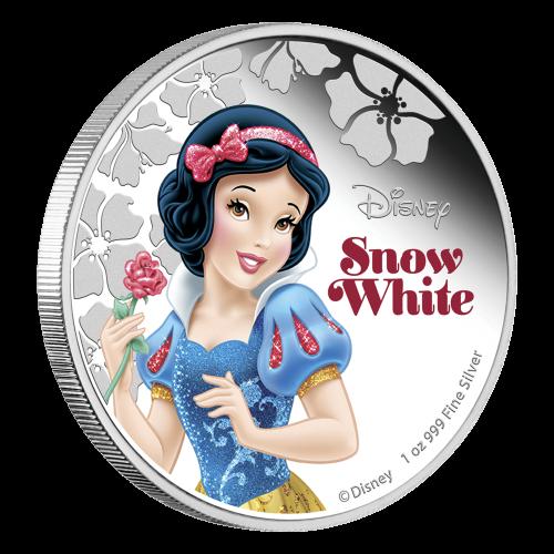 1 oz 2015 Disney Princess Snow White Silver Coin