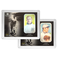 1 oz Walter Johnson Elemetal T-206 Baseball Greats Series Silver Bar