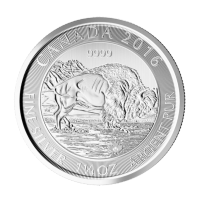 1.25 oz 2016 Canadian Bison Silver Coin