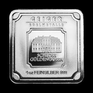 1 oz Geiger Edelmetalle Silver Bar