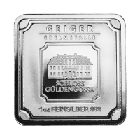 Barra de Plata Geiger Edelmetalle de 1 oz