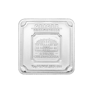 10 gram Geiger Edelmetalle Silver Bar