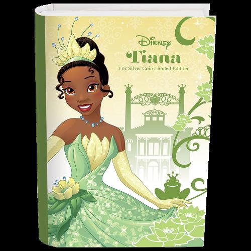 1 oz 2016 Disney Princess Tiana Silver Coin