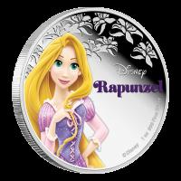 1 oz 2016 Disney Princess Rapunzel Silver Coin