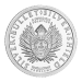 """The original Silver Bullet Silver Shield crest with the words """"Silver Bullet Silver Shield A Conscious Solution to a Collectivist Problem"""" and the weight and purity"""