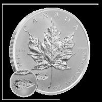Moneda de Plata Proof Hoja de Arce Cnadiense Tanque Mark V Reverso2 016 de 1 oz