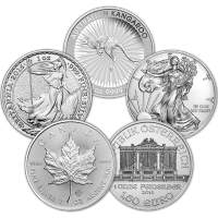 1 oz Our Choice of Assorted Sovereign Mint Uncirculated Silver Coin