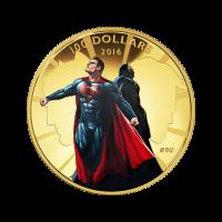 14 Karat Goldmünze - Batman v Superman: Dawn of Justice™ - 2016 limitiert