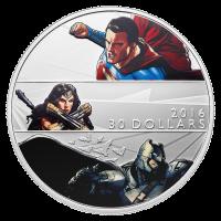 2 oz Silbermünze - Batman v Superman: Dawn of Justice™ - Polierte Platte 2016