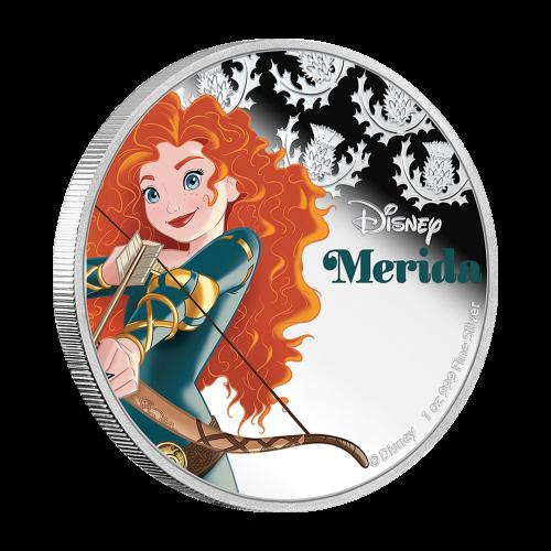 1 oz 2016 Disney Princess Merida Silver Coin