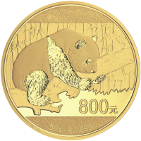 50 gram 2016 Chinese Panda Gold Proof Coin