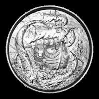 2 oz Privateer Collection | Kraken Ultra High Relief Silver Round