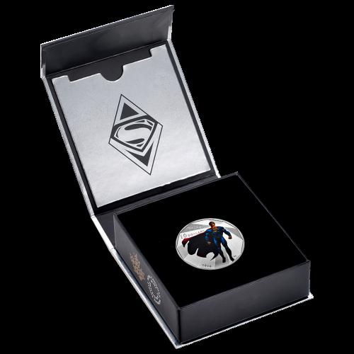 1/2 oz 2016 Batman v Superman: Dawn of Justice™ | Superman Silver Coin