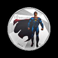1/2 oz Silbermünze - Batman v Superman: Dawn of Justice™ | Superman (2016)