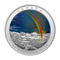 1 oz 2016 Weather Phenomenon | Radiant Rainbow Colourized Silver Proof Coin