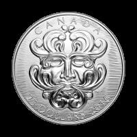 Arte Escultórico del Parlamento | Moneda de Plata Grotesco Hombre Verde Frondoso 2016