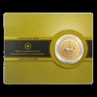 1 oz 2011 RCMP 99999 Gold Coin
