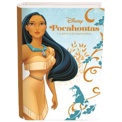 1 oz Silbermünze - Disney Prinzessin Pocahontas - 2016