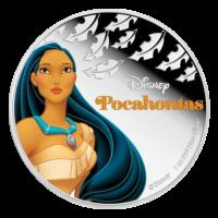 1 oz 2016 Disney Princess Pocahontas Silver Coin