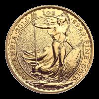 1 oz 2016 Britannia Gold Coin