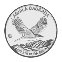 2012 Andorra Golden Eagle F15 Privy Silver Proof Coin