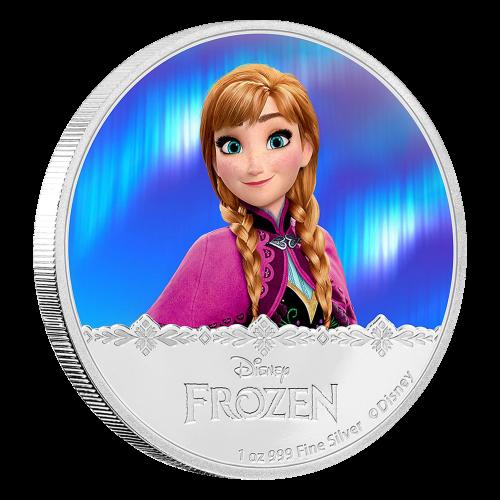 1 oz 2016 Disney Frozen | Anna Silver Proof Coin