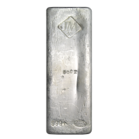 50 oz Johnson Matthey Vintage Silver Bar
