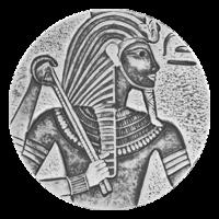 5 oz 2016 Egyptian Relic Series | King Tut Silver Coin