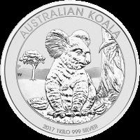 1 kg | kilo 2017 Australian Koala Silver Coin