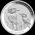 10 oz Silbermünze australischer Kookaburra - 2017