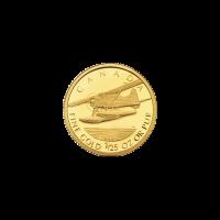Moneda de Oro a Prueba Casa de la Moneda Real Canadiense Año Aleatorio de 1/25 oz