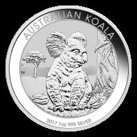 1 oz Silbermünze - australischer Koala - 2017