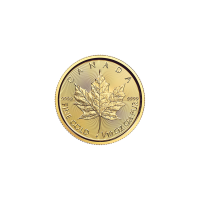 1/10 oz 2017 Canadian Maple Leaf Gold Coin