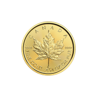 1/4 oz 2017 Canadian Maple Leaf Gold Coin