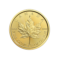 1/2 oz 2017 Canadian Maple Leaf Gold Coin
