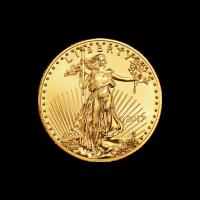 1/4 oz Goldmünze - amerikanischer Adler - 2017