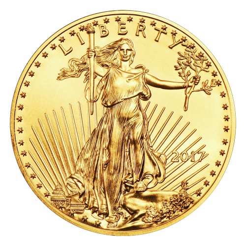 """Rendition of Augustus Saint-Gaudens Lady Liberty, and the words """"LIBERTY 2017"""""""