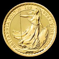 1 oz 2017 Britannia Gold Coin