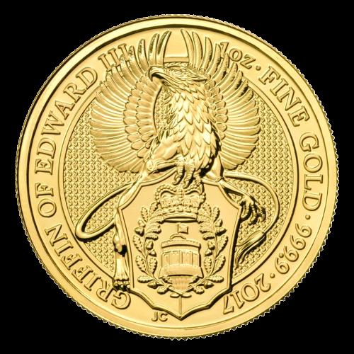 """Effigy of Queen Elizabeth II and the words """"Elizabeth II D.G. Regina Reg Fid 100 Pounds"""""""
