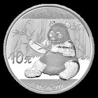 30 g 2017 Chinese Panda Silver Coin