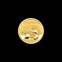 1 g Goldmünze - chinesischer Panda - 2017