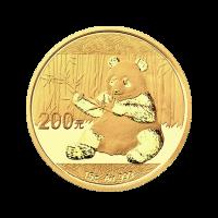 15 gram 2017 Chinese Panda Gold Coin